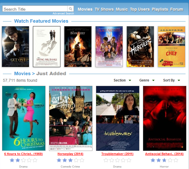 free sites to watch movies