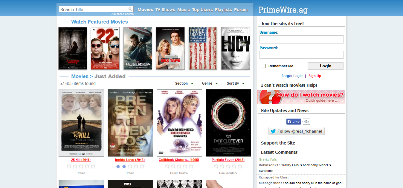 prime wire streaming site