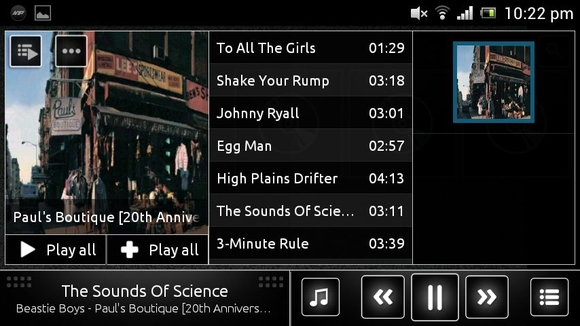 n7-player music player app