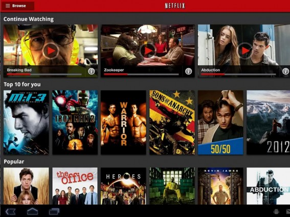 netflix apps for s4