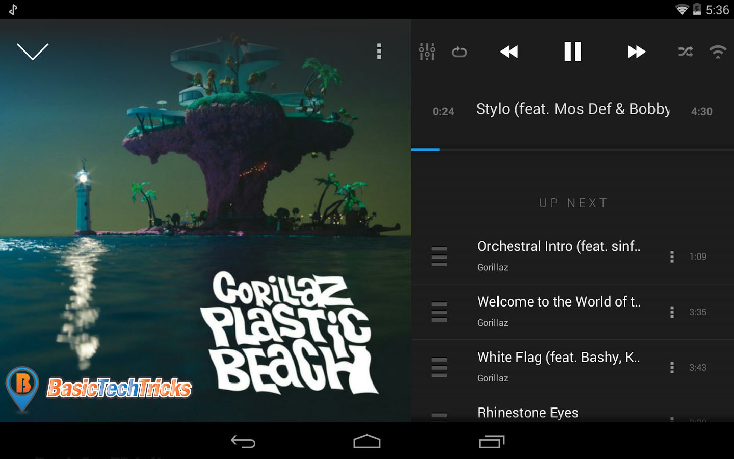 best free music player for android kitkat