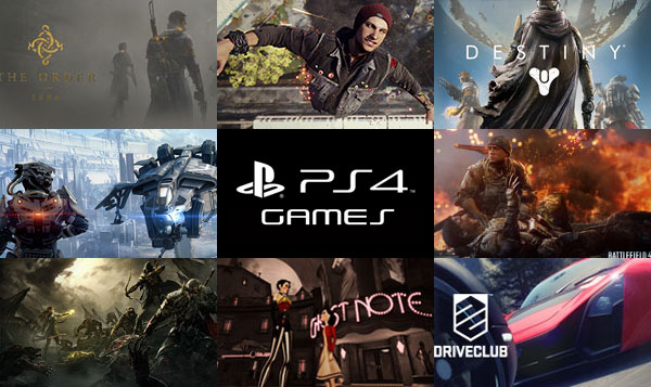 Top best playstation 4 games