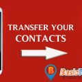 transfer contacts from android to iPhone 6 or iPhone 6 plus