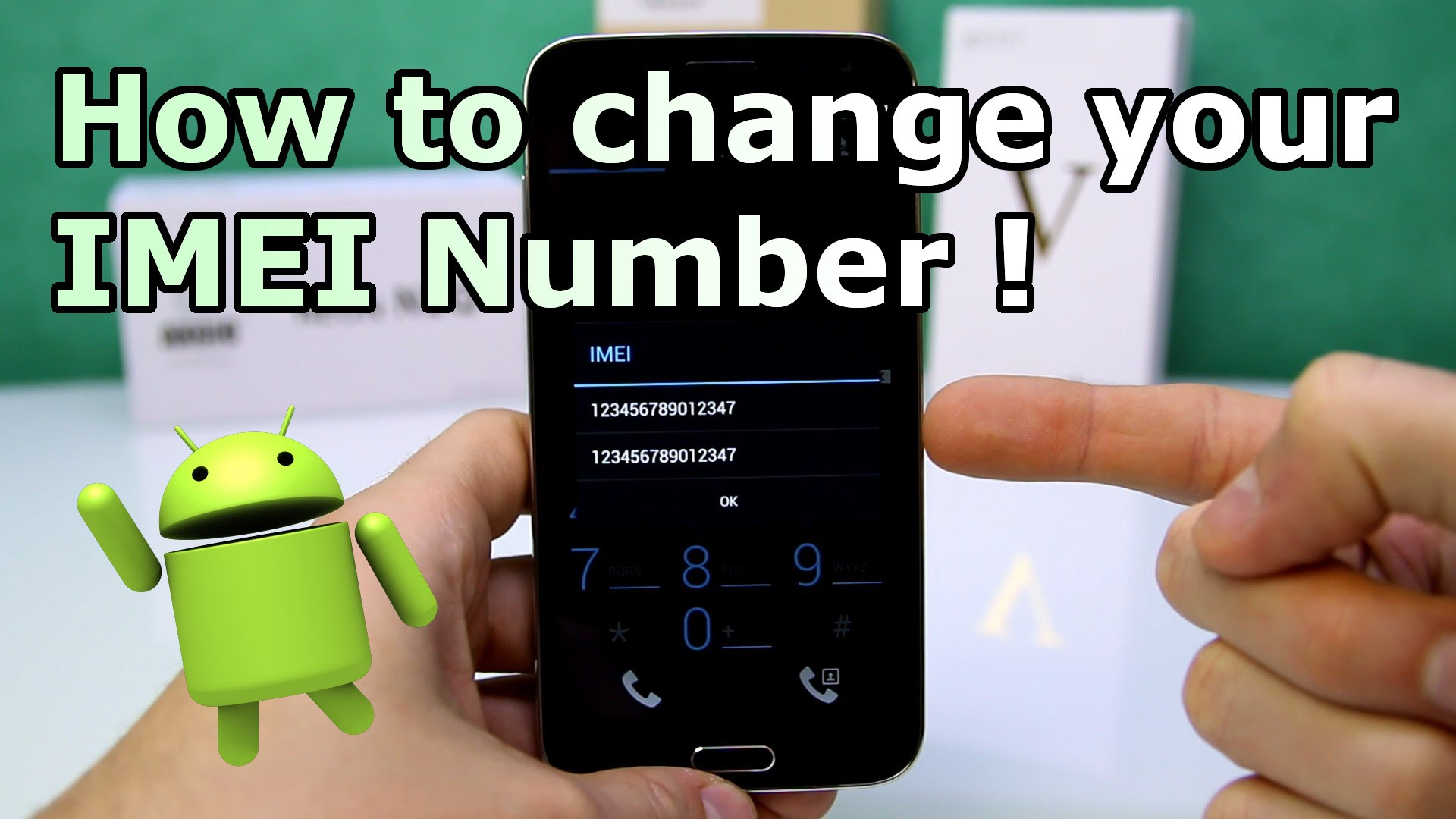 how to change android IMEI number to blacbkberry
