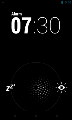 alarm snooze and dismiss options