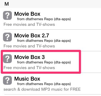 How to update Movie Box