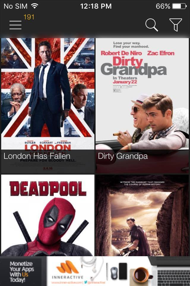 How to update Movie Box app