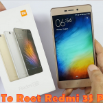 how to root Redmi 3S Prime